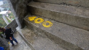 400 steps